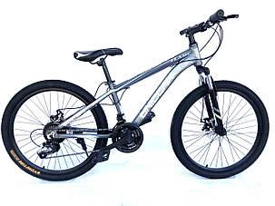 "Велосипед Unicorn - Flame 24"" размер рамы 15"" Grey, фото 2"