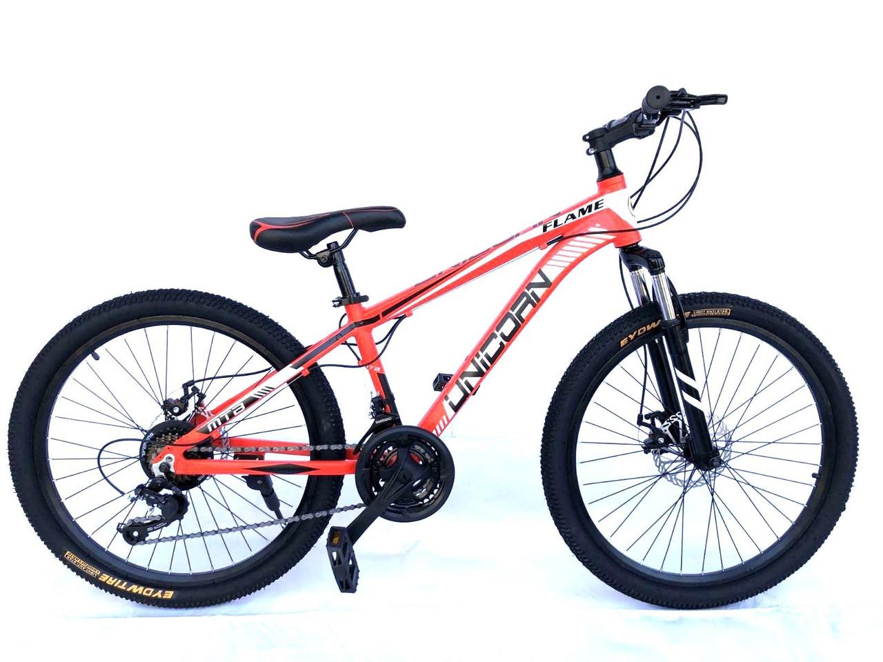 "Велосипед Unicorn - Flame 24"" размер рамы 15"" Red"