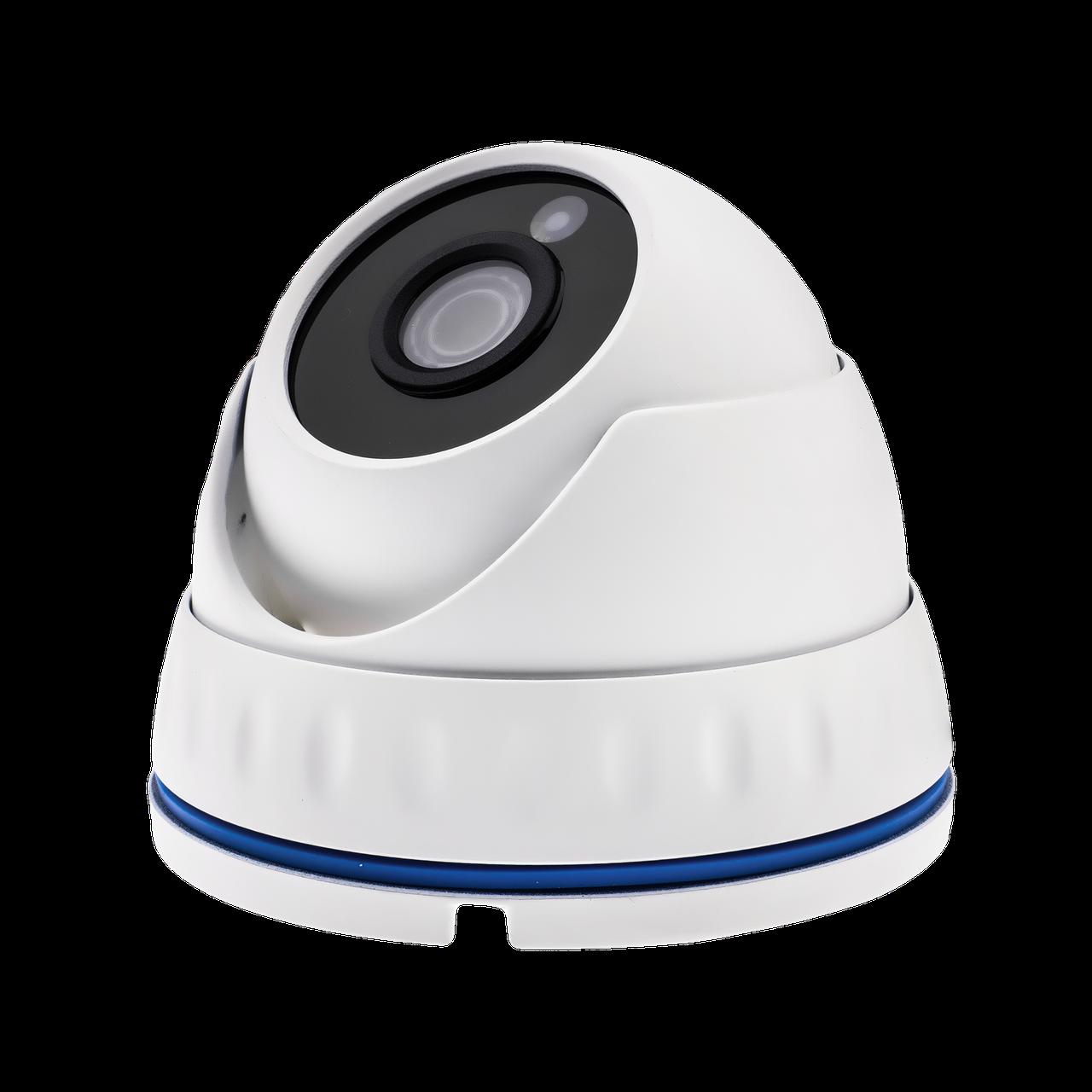 Гибридная Антивандальная камера для внутренней и наружной установки GreenVision GV-065-GHD-G-DOS20-20 1080p