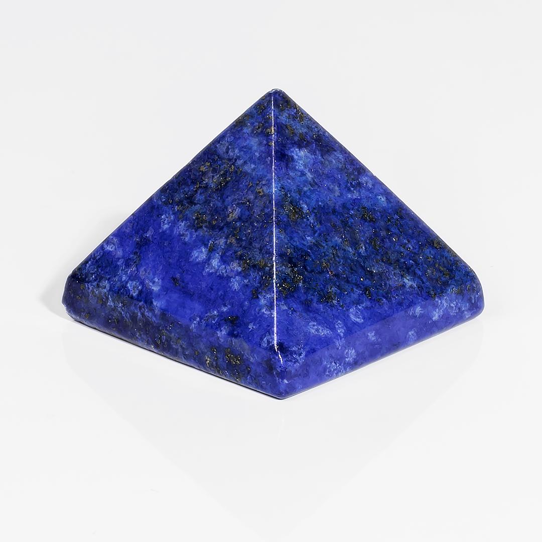 Пірамідка з Лазуриту, 23*29 мм, 592ФГЛ