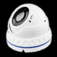 Гибридная Антивандальная камера для внутренней и наружной установки GreenVision GV-052-GHD-G-DOA20V-30 1080p, фото 1