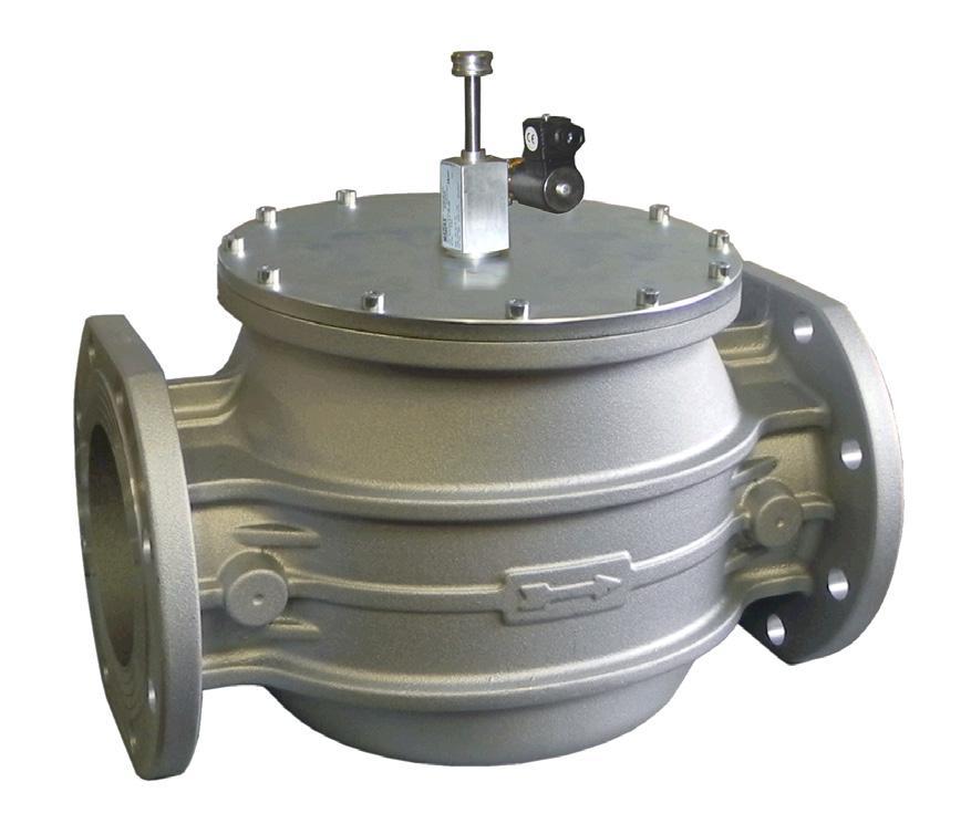Электромагнитный клапан M16/RM N.A., DN150, 500 mbar (MADAS)