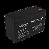 Аккумулятор AGM LP 12V - 7 Ah Silver