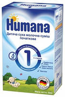 Молочная сухая смесь HUMANA 1 с 0-6 м. 600 гр.