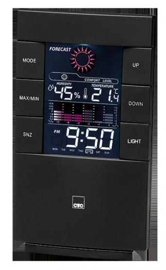 Метеостанция/часы CLATRONIC WSU 7024