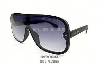 Жіночі сонцезахисні окуляри маска Louis Vuitton репліка з градієнтом