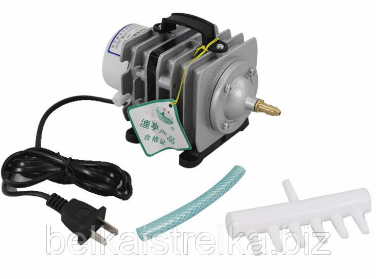 Компрессор воздушный для аквариума и пруда SunSun АСO-002, 40 л/мин.