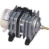 Компрессор воздушный для аквариума и пруда SunSun АСO-004, 60 л/мин., фото 3