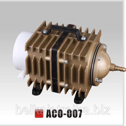Компрессор воздушный для аквариума и пруда SunSun АСO-007, 90 л/мин.