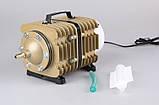 Компрессор воздушный для аквариума и пруда SunSun АСO-007, 90 л/мин., фото 3