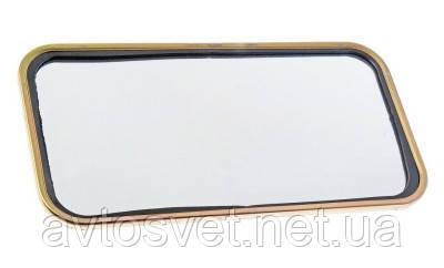 Дзеркало зовнішнє ЗІЛ-130 300х150 (плоске\метал) (вир-во Росія) 130-8201020