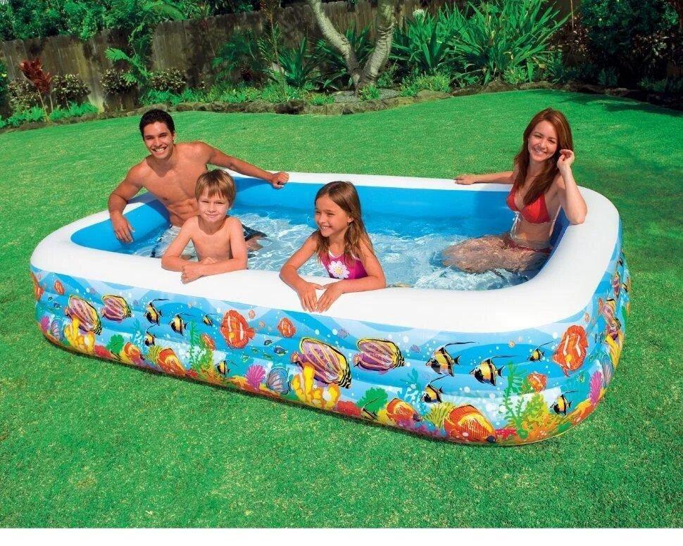 Детский надувной бассейн Intex 58485 305 см х 183 см х 56 см