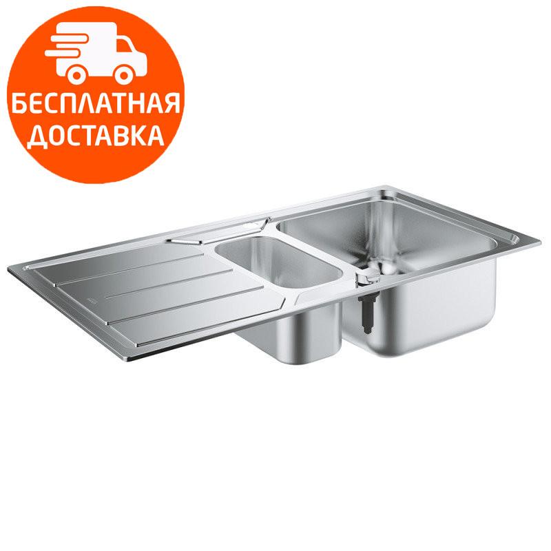 Мойка для кухни на полторы чаши Grohe EX Sink K500 31572SD0 нержавеющая сталь
