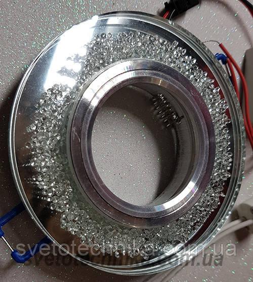 Встраиваемый  светильник 1755 LT MR16 с LED подсветкой
