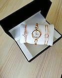 Шикарные наручные женские часы Disu звезда с ДВУМЯ браслетами TyT, фото 2