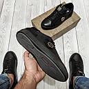 Кеды кожаные мужские черные Philipp Plein  PP-7  размер 40, 41, 42, 43, 44, 45, фото 5