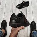 Кеды кожаные мужские черные Philipp Plein  PP-7  размер 40, 41, 42, 43, 44, 45, фото 6