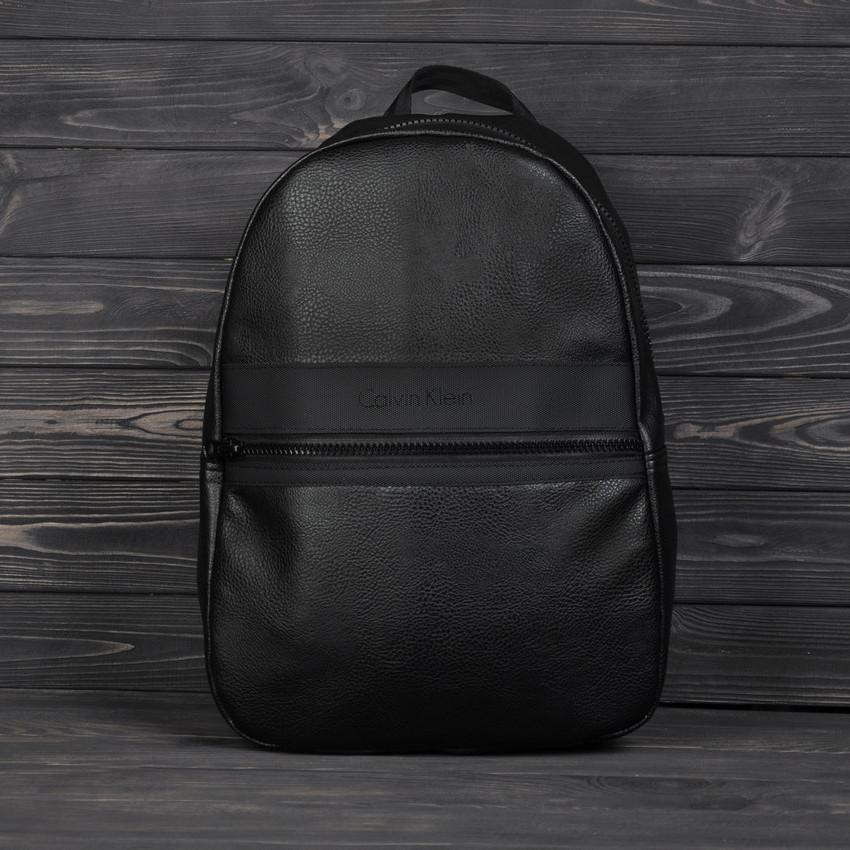 Городской повседневный рюкзак Calvin Klein кельвин Черный Vsem