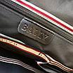 Сумка с передним карманом BALLY|Мессенджер мужской кожаный черный Балли, фото 9