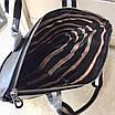 Сумка кожаная вместительная BALLY Мужской мессенджер Балли черного цвета кожаный с ручками, фото 3