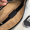 Клатч Gucci | Черная борсетка Гуччи на молнии|Сумка - клатч черного цвета с логотипами Гуччи, фото 8