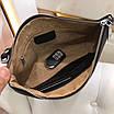 Клатч Gucci | Черная борсетка Гуччи на молнии|Сумка - клатч черного цвета с логотипами Гуччи, фото 9