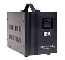 Стабилизатор напряжения релейный IEK HOME CHP 1-0-1,5 кВА (1,2 кВт, переносной)