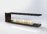 Встраиваемый биокамин «Очаг Focus MS-арт.002» Gold Fire (Focus002)