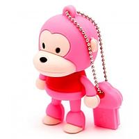 "Флеш-накопитель ""Обезьяна"", розовый, 4Гб, фото 1"