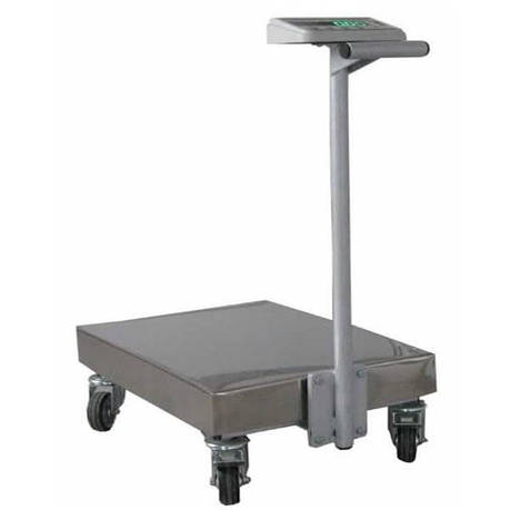 Весы тележка Техноваги ТВ1-12epa (150 кг - 400х550), фото 2