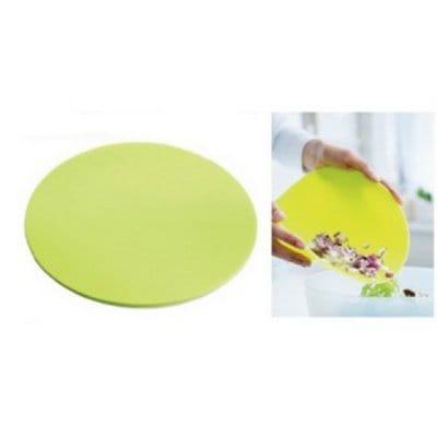 Tupperware разделочная доска гибкая в лимонном цвете
