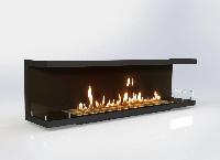 Встраиваемый биокамин «Очаг Focus MS-арт.004» Gold Fire (Focus004)