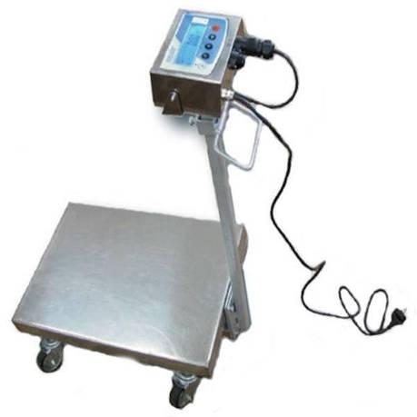 Весы тележка Техноваги ТВ1-12eha (200 кг - 600х700), фото 2