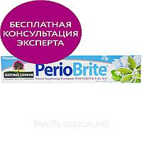 Nature's Answer, PerioBrite, натуральная отбеливающая зубная паста с коэнзимом Q10 и фолиевой кислотойа