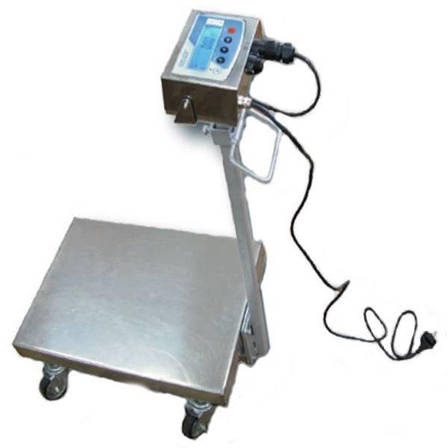 Весы тележка Техноваги ТВ1-12eha (300 кг - 600х700), фото 2