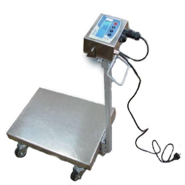 Весы тележка Техноваги ТВ1-12eha (200 кг - 400х550)