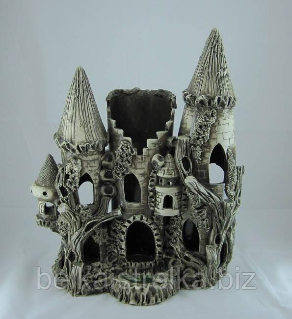 Керамика для аквариума Замок большой, 30х40 см.