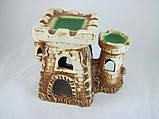 Керамика для аквариума Крепость-башня, 22х18 см., фото 2