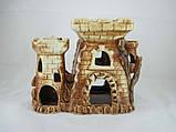 Керамика для аквариума Крепость-башня, 22х18 см., фото 3