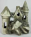 Керамика для аквариума Замок средний, 18х20 см., фото 2