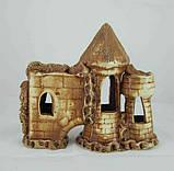 Кераміка для акваріума Замок-фортеця, 18х16 див., фото 2