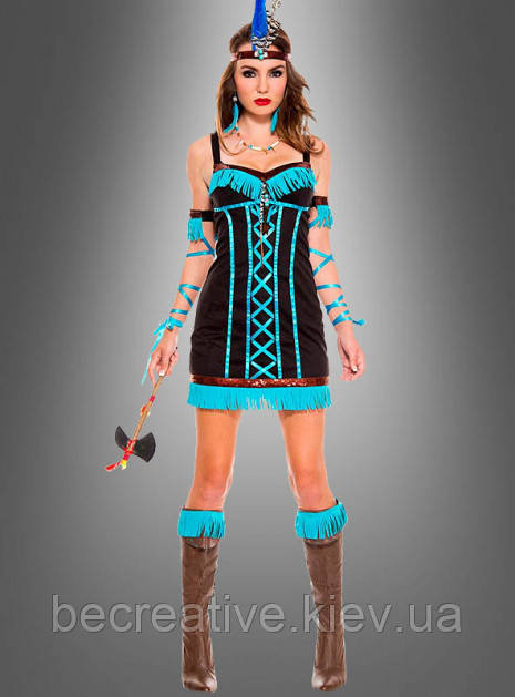Женский карнавальный индийский костюм