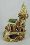 Керамика для аквариума Замок малый, 12х20 см., фото 2