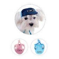 Кепка Pet Fashion Летняя для собак S (желтая с синим козырьком)