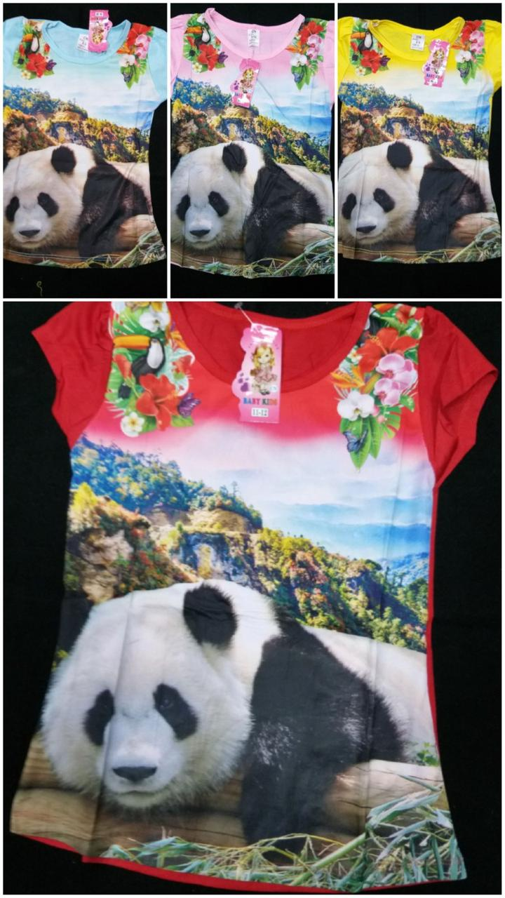 Подростковая футболка Панда