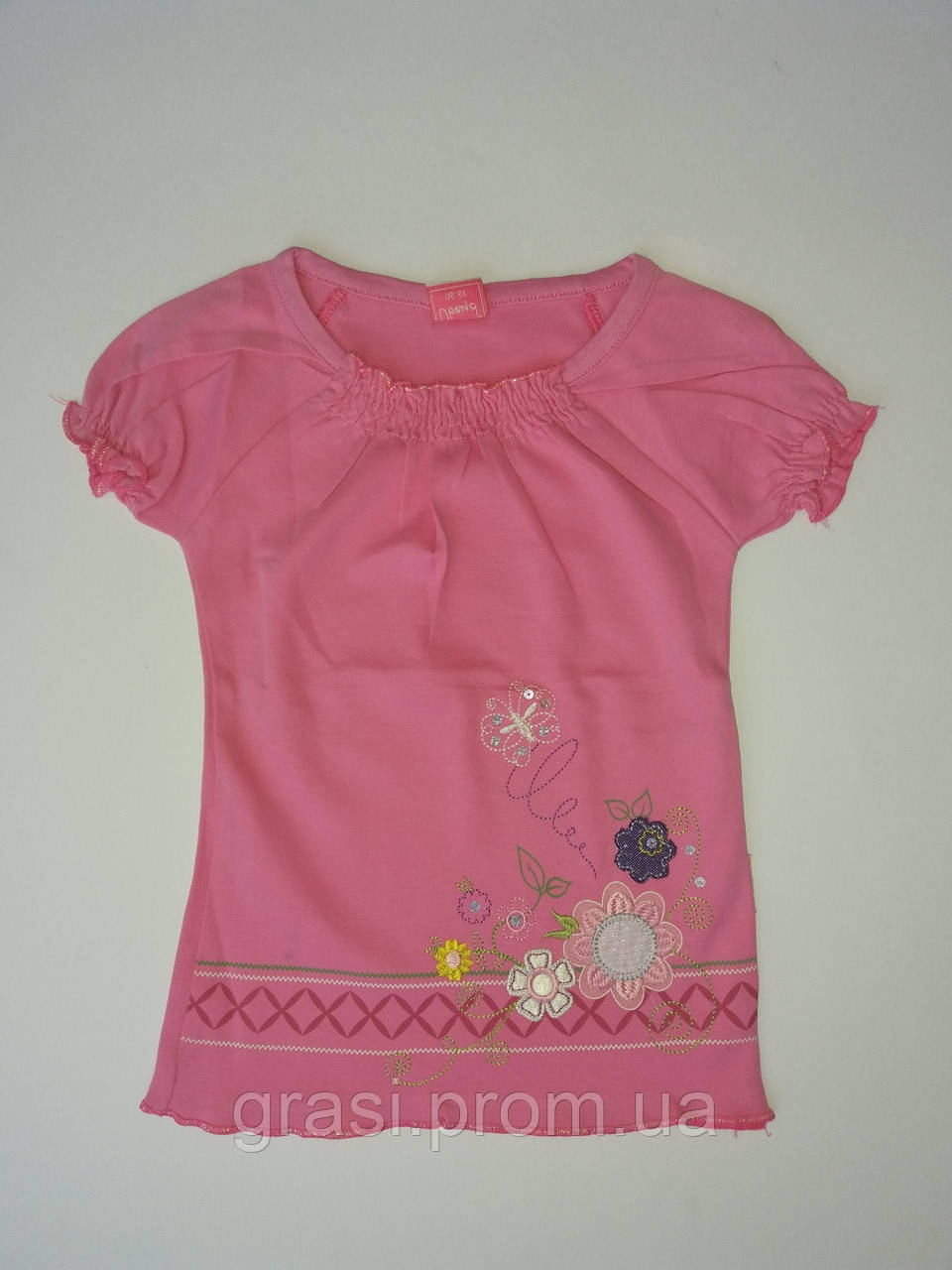 Летняя футболка для девочки