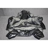 Зимний комбинезон для собак Зайка такса 47х56 (флис, синтепон), фото 4