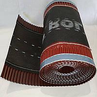 Коньковая вентиляционная лента Top Roll 310х5000 мм Коричневый для керамической и цементно песчаной черепицы
