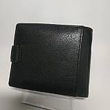Шкіряний чоловічий гаманець / Кожаный мужской кошелек dr.BOND MS-15 Black, фото 2