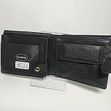 Шкіряний чоловічий гаманець / Кожаный мужской кошелек dr.BOND MS-15 Black, фото 6
